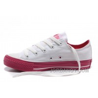 Dazzle Colour CONVERSE All Star Light White Red Ps Casual Canvas Sneakers Cheap To Buy