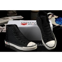 Ultimate Edition Black CONVERSE Comme Des Garcons Play Chuck Tayloar All Star High Tops Canvas Sneakers Free Shipping Tr3Rbj