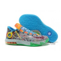 "Discount Nike Kevin Durant KD 6 VI ""What The KD"" For Sale 2014"