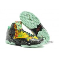 """Nike LeBron 11 """"Kings Ring"""" Black-Yellow/Red Maple For Sale Cheap To Buy"""