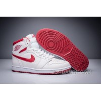 "Cheap To Buy 2017 Air Jordan 1 Retro High ""Metallic Red"" For Sale"