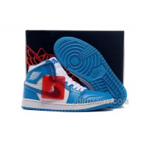 New Air Jordan 1 Retro High White/University Blue Discount