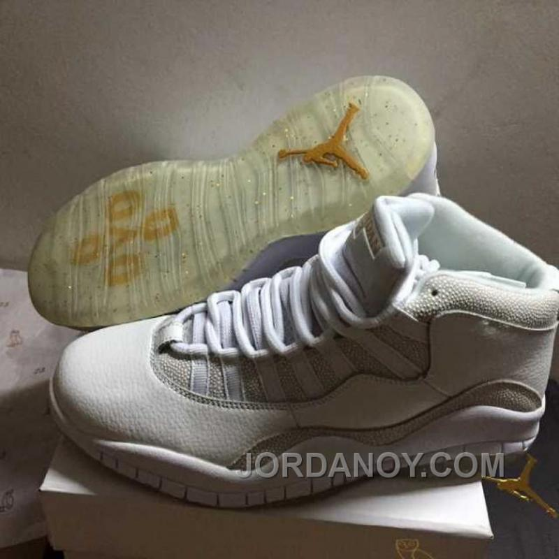 """check out b77a3 7eac0 Online Air Jordans 10 Retro """"OVO"""" Summit White Shoes For Sale"""