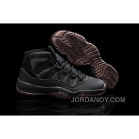 "Lastest Air Jordans 11 ""Matte"" Custom All Black Shoes For Sale Online"