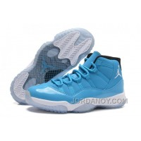 "Discount Air Jordans 11 Retro ""Pantone"" University Blue/White-Black For Sale"