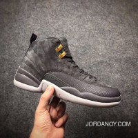 Air Jordan 12 Dark Grey 9 New 2018 Discount