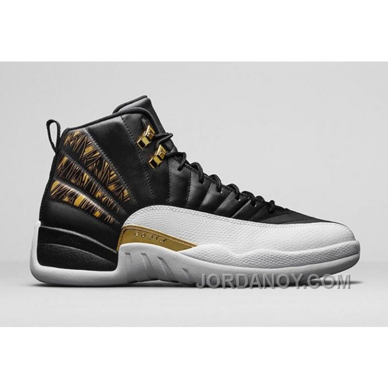 2017 Air Jordan 12 Gold Wings Cheap To Buy