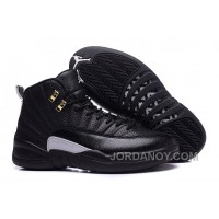 "Cheap To Buy 2016 Air Jordans 12 ""The Master"" Black/Rattan-White-Metallic Gold"
