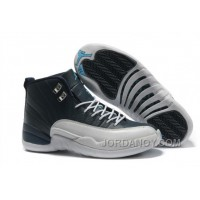 Free Shipping Air Jordans 12 Retro Obsidian / White French Blue For Sale