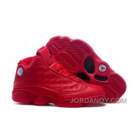Discount 2016 Air Jordans 13 All Red Shoes For Sale