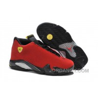 "Christmas Deals 2016 Air Jordan 14 ""Ferrari"" Chilling Red/Black Vibrant Yellow"