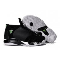 "For Sale 2016 Air Jordan 14 ""Indiglo"" Black/White Shoes"