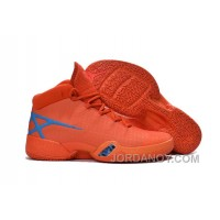 Air Jordan 30 XXX Playoffs Orange Blue PE 2016 Free Shipping