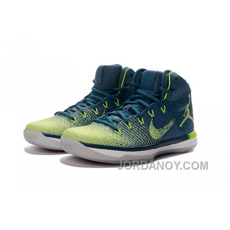 "... Christmas Deals 2017 Air Jordan XXX1 Brazil ""Rio"" Green Abyss Ghost  Green- ... ee74a4c231"