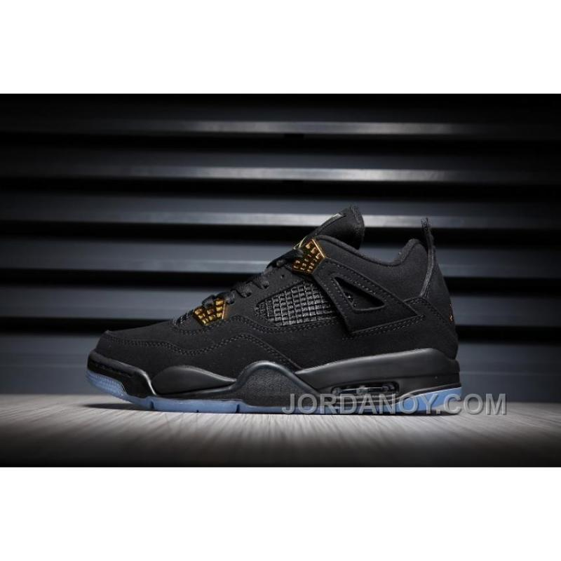 f351963bb962 ... 2017 Air Jordan 4 Black Gold Glow Lastest ...