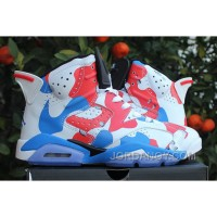 "Cheap To Buy Air Jordans 6 ""American Heroes"" Custom For Sale Online"