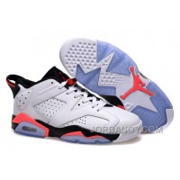 For Sale Air Jordans 6 Low White/Infrared 23-Black