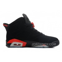 Free Shipping Air Jordans 6 Retro Black/Infrared For Sale