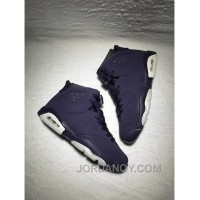 AIR JORDAN 6 RETRO GG Purple Dynasty/Purple Dynasty-White Super Deals
