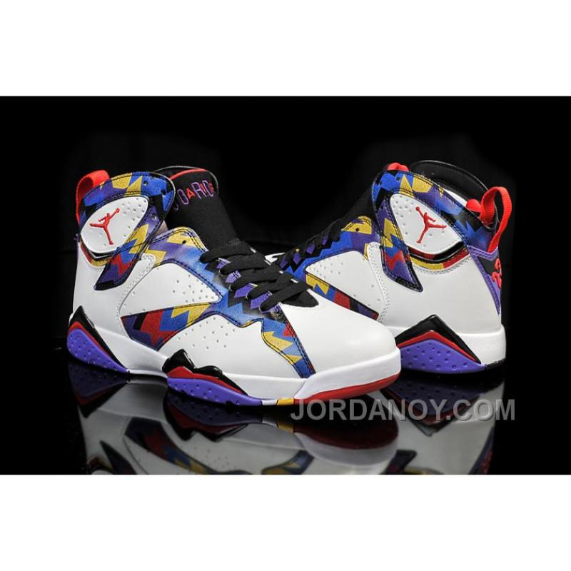 "... 2017 Air Jordan 7 ""Nothing But Net"" Christmas Deals ..."