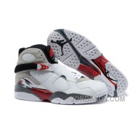 "Free Shipping Air Jordans 8 Retro ""Bugs Bunny"" White/Black-True Red For Sale"