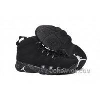 "Discount 2016 Air Jordan 9 ""Anthracite"" Anthracite/Black-White Basketball Shoes"