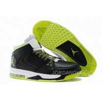 New Jordan Flight Origin Black/Venom Green/Volt Ice/White Discount
