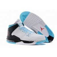 New Jordan Flight Origin White/Black/Gamma Blue/Gym Red Christmas Deals