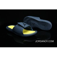 Air Jordan Hydro 6 Sandals Armory Navy/Black/Electrolime Copuon Code