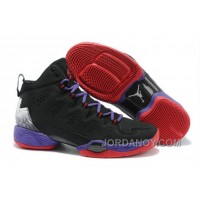 New Jordan Melo M10 Black Blue Gym Red Hot Now