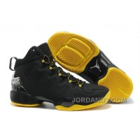 New Jordan Melo M10 Black Yellow Shoes Authentic