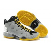 New Jordan Melo M10 Metallic Silver Black/Volt Christmas Deals