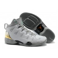 New Jordan Melo M10 White Gray Custom Super Deals