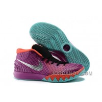 "Cheap Nike Kyrie 1 ""Easter"" Medium Berry/Hot Lava-Black-Metallic Silver For Sale"
