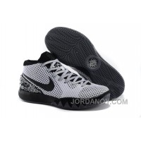 "Cheap Nike Kyrie 1 ""BHM"" White/Dark Grey-Black For Sale Christmas Deals"