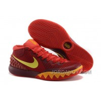 Nike Kyrie Irving 1 PE Red Yellow For Sale Online Free Shipping