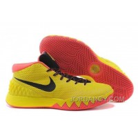 For Sale Nike Kyrie Irving 1 PE Yellow-Black/Bright Crimson Cheap Online