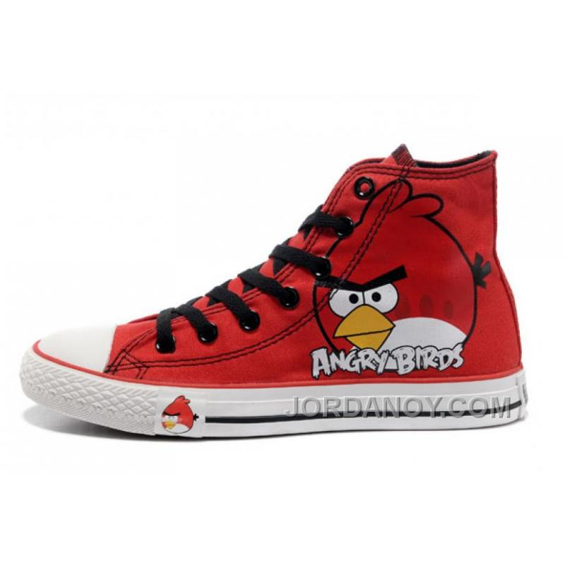 USD  68.00  212.90. All Star CONVERSE Angry Birds Red High Tops Chuck Taylor  ... fb20d6416