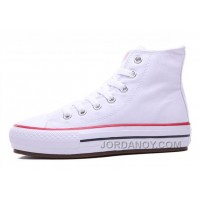 White High Tops CONVERSE Platform Women Chuck Taylor All Star Women Shoes Lastest G52k3k