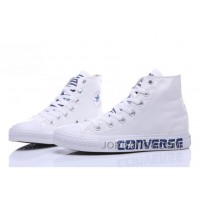 Christmas Deals White CONVERSE Chuck Taylor High Tops All Star Shoes 888P6j7