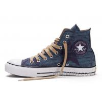 Top Deals Blue CONVERSE All Star Print Chuck Taylor Stonewashed Canvas High S Shoes PAti3