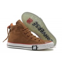 Undefeated Khaki CONVERSE All Star High Ps Canvas Clear Rubber Soles Cheap To Buy 8RXrM