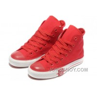 Red CONVERSE High Tops Lightning Chuck Taylor All Star Canvas Shoes Online 7nP6kJ