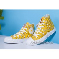 Yellow High CONVERSE X The Simpsons Chuck Taylor All Star Online S7KKH48