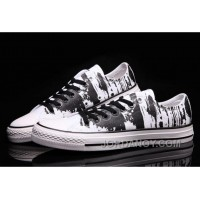 CONVERSE The Matrix Brush Printed Black White CT AS Canvas Lastest McW6Bk