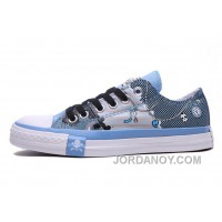 Blue CONVERSE Chuck Taylor Punk Skull Pirate All Star Low Lastest Myh3kFH