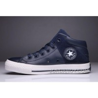 Blue CONVERSE Padded Collar All Star High Leather Terminator Genisys Chuck Taylor Authentic JJaj6s