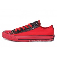 Red Black CONVERSE Heritor Chuck Taylor All Star Ps Canvas Sneakers Cheap To Buy WB6CB