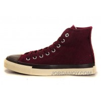 Claret Retro CONVERSE Skate Shoes Chuck Taylor All Star High Tops Free Shipping Rdmd53