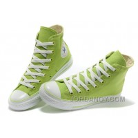 Fresh CONVERSE New Color Dazzling Light Green Chuck Taylor All Star Canvas Women Sneakers Top Deals MRQsbF
